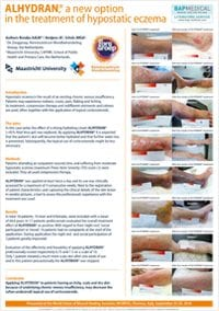 ALHYDRAN clinical study - A new option in the treatment of hypostatic eczema