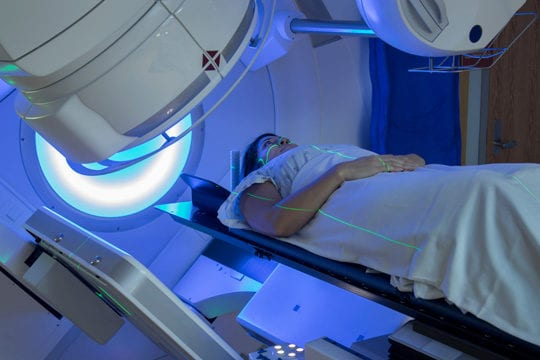 ALHYDRAN radiotherapy after-care